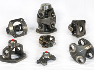Double Cardan Joint Components
